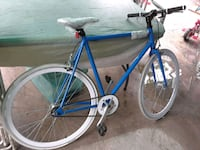 blue and white road bike Los Angeles, 90001