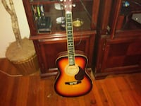red and black acoustic guitar Norfolk, 23502
