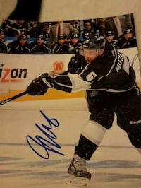 Jake Muzzin Autographed 8x10 Photo Edmonton, T6L 2K3