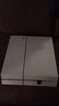 White sony ps4 game console AS IS Austin, 78702