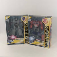 Hasbro Transformers Cyberverse Ultimate Class Fusion Megatron And Optimus Prime. New 22 km