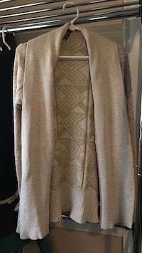 Women's brown cardigan