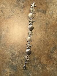 Sterling silver sea shell bracelet  Billings, 59101