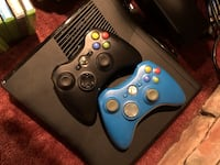 Black XBOX 360 with 22 games Richmond Hill, L4E 2N1