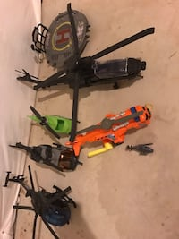 Helicopter toys