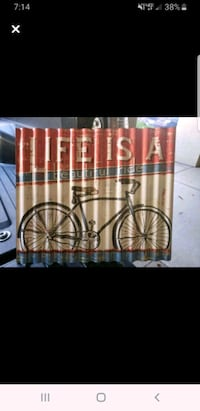 Life is a ride- tin sign Tempe, 85281