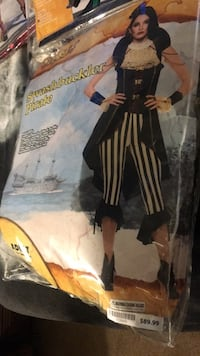 Pirate costume bought for 89.00 worn once Anchorage, 99508