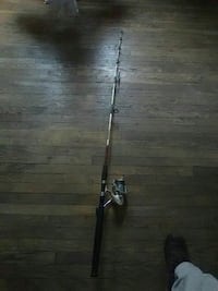 6ft graphite fishing pole (terminator) series