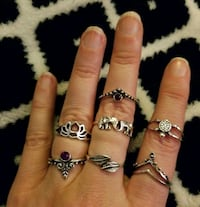 7 Piece Ring Set Anderson, 29626