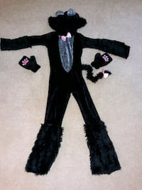Girls Black cat costume for sale..used once...for 6 to 8 year old girl Manassas, 20109