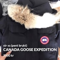 Canada goose expedition str xs 5942 km
