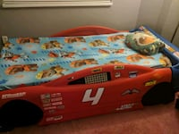 Single car bed for kids. Surrey, V3W 2M2