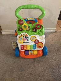 Vtech activity walker . Handle is removal so we can use as musical tummy time for babies. Mc Lean, 22102