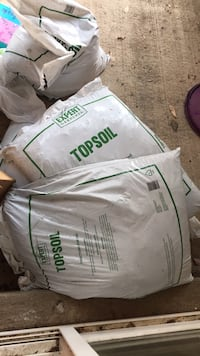 6 bags top soil  Rockville, 20850