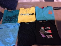 assorted crew-neck shirts
