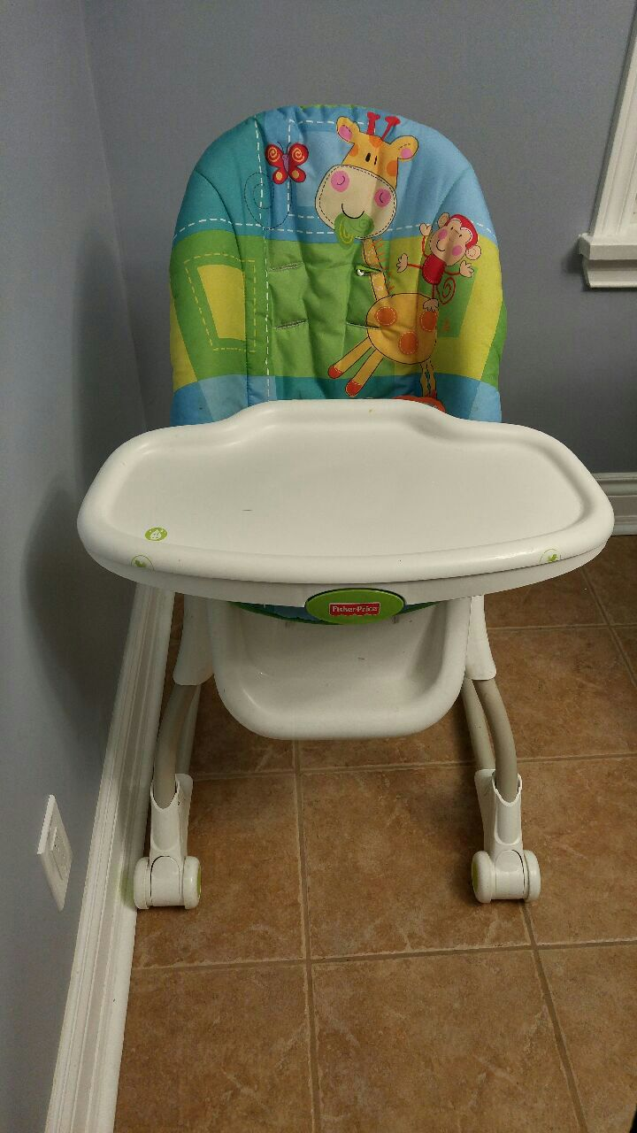 Used Fisher Price EZ clean High chair for sale in Bradford West Gwillimbury & Used Fisher Price EZ clean High chair for sale in Bradford West ...