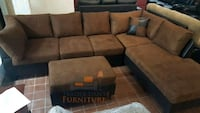 Brand New Microfiber Sectional Sofa +Ottoman  Silver Spring, 20902