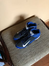 pair of black-and-blue Nike basketball shoes Bowie, 20716