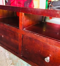 Wooden TV Stand with drawers in great shape Pine Hill, 08021