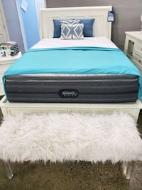 Queen Mattress bed frame $39 DOWN