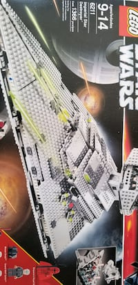 Star Wars Lego Imperial Star Destroyer 6211 Waldorf