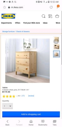 white wooden dresser with mirror screenshot Arlington, 22201
