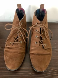 GUC Forever21 Faux Suede Ankle Booties (Brown)