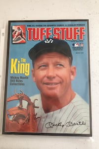 """2004 Tuff Stuff Price Guide Mickey Mantle on cover. """"THE KING"""""""