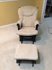 Shermag Gliding Nursing Chair & Ottoman Woodbine, 21797