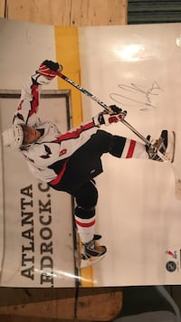 Autographed Alex Ovechkin poster Old Lyme, 06371