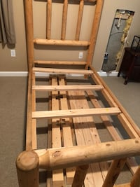 Handcrafted Twin Size Log Bed Keedysville, 21756