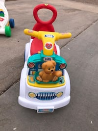 Toddler's pink and yellow ride on toy Greeley, 80634