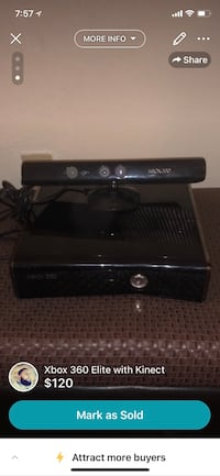 Xbox 360 Elite with Kinect  North Chesterfield, 23234