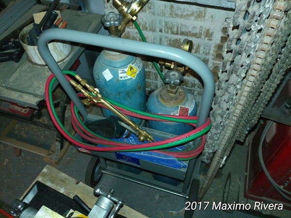 Oxy/Acetylene torch outfit rig  New