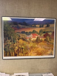 Painting scene of winery (wall decor)