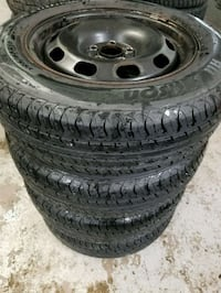 Vw rims and tires all season  Toronto, M6L 1A4