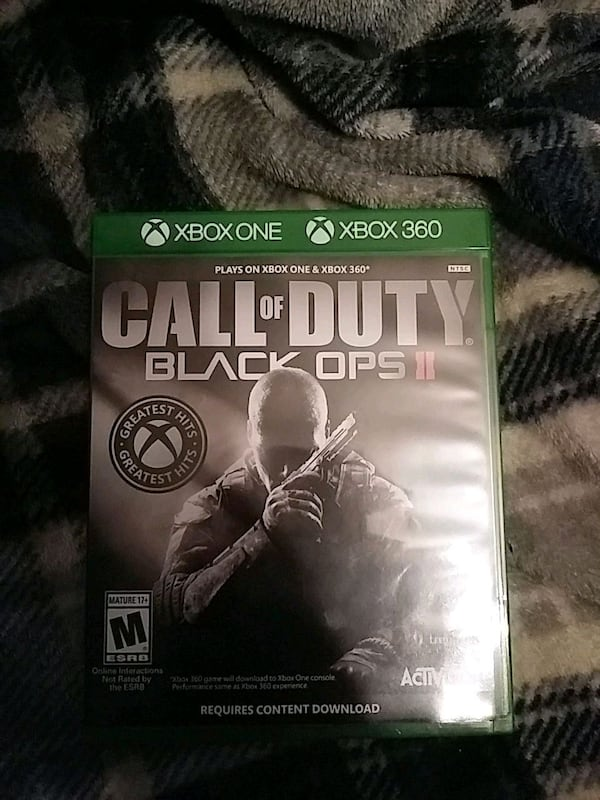 Used Call Of Duty Black Ops 2 Xbox Pick Up Only For Sale In