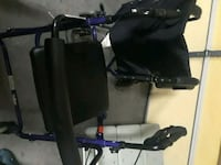 black and blue wheelchair Knoxville, 37924