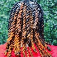 Natural Hair styling Stone Mountain