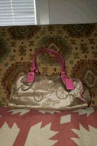 Coach carriage satchel purse  The Plains