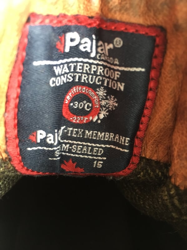 Pajar leather winter boots  2