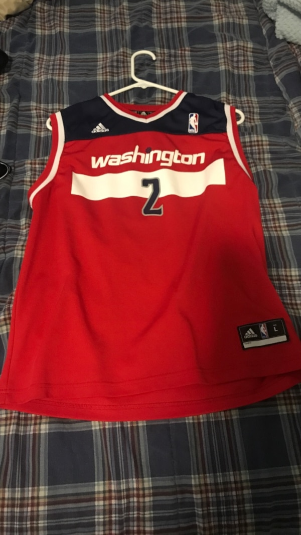 outlet store sale 031e4 9a5d7 Used NBA John wall Jersey size kids large for sale in ...