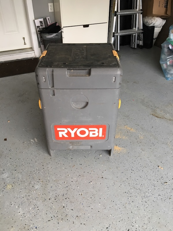 Ryobi battery operated rolling tool box