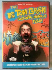 The Tom Green Subway Monkey Hour dvd