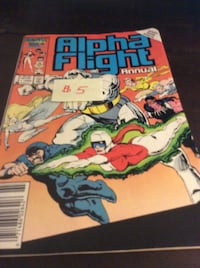 JUST REDUCED comic Alpha Flight Annual    Rockville