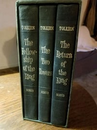 Vintage book set of The lord of the rings  Selma, 93662