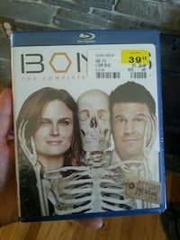 Bones Beyond The Grave Edition Blu-ray movie case Fulton, 13069