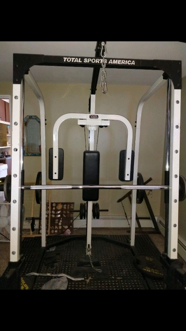 Used Smith Machine Tsa 100lbs Weight For Sale In Levittown Letgo
