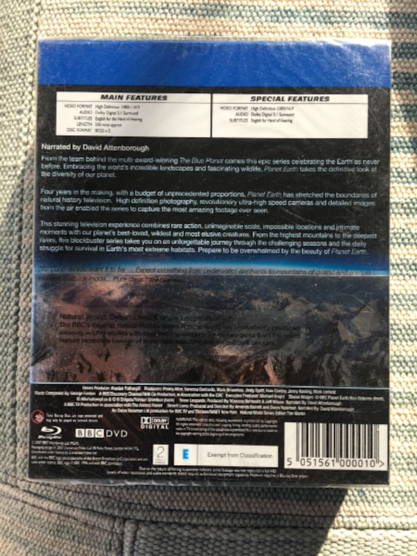 Planet Earth The Complete Series [Blu-ray] (2007) 5-Disc Set. d55b0bba-960c-4cdc-a433-0bca71474a2f