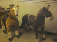 2 ride on horse toys Sturgeon County, T8T 0T9